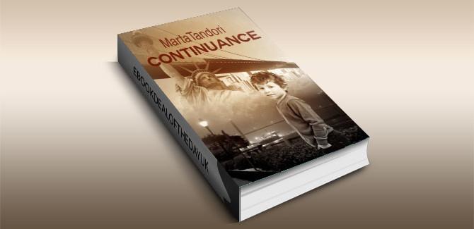 a mystery, historical, suspense kindle Continuance by Marta Tandori