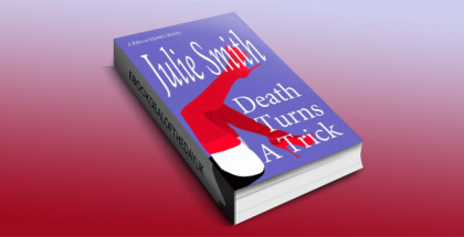 "a mystery kindle book ""Death Turns A Trick"" by Julie Smith"
