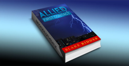 "a scifi adventure ebook ""Allied: First Contact"" by Blake Ridder"