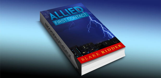 a scifi adventure ebook Allied: First Contact by Blake Ridder