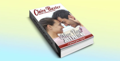 "contemporary romance kindle book ""More Than Just Pretend"" by Claire Baxter"