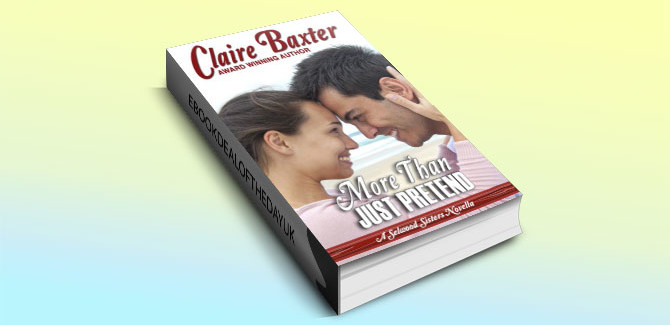 contemporary romance kindle book More Than Just Pretend by Claire Baxter