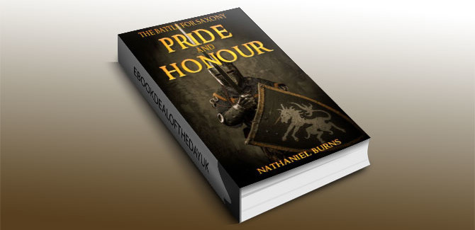 a historical fiction kindle book Pride and Honour - The Battle for Saxony by Nathaniel Burns