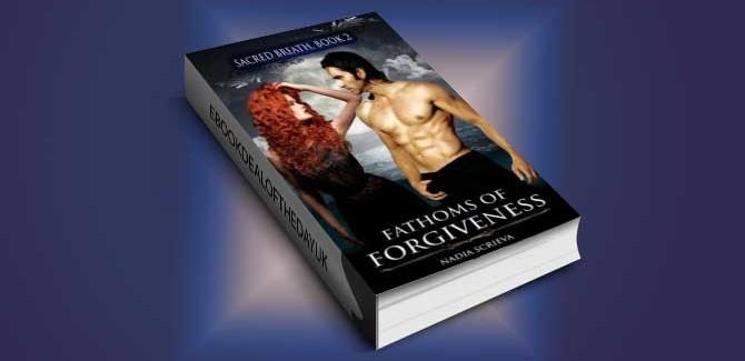 aranormal fantasy romance ebook Fathoms of Forgiveness by Nadia Scrieva
