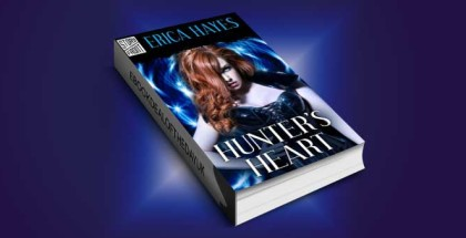 "paranormal romance ebook ""Hunter's Heart"" by Erica Hayes"