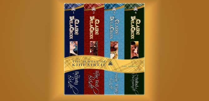 historical medieval Scottish romance The Jewels of Kinfairlie Boxed Set by Claire Delacroix