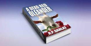 """womensleuths fiction for kindle """"A Dead Red Oleander"""" by RP Dahlke"""