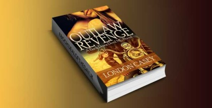 "new adult romantic suspense ebook ""OUTLAW REVENGE"" by London Casey"
