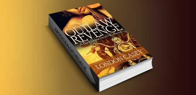 new adult romantic suspense ebook OUTLAW REVENGE by London Casey