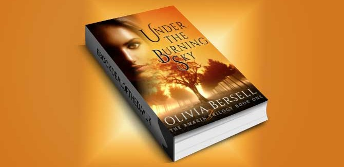 romance ebook Under The Burning Sky (The Amarin Trilogy Book 1) by Olivia Bersell