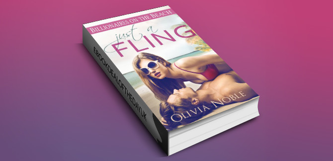 contemporary romance ebook Just a Fling (Billionaires on the Beach Book 1) by Olivia Noble