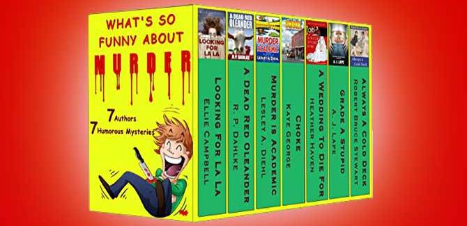 humour w/ mystery kindle books What's So Funny About Murder by Various Authors