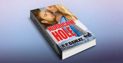 "romantic mystery ebook ""Hurricane Hole (A Romantic Mystery Sailing Trilogy Book 2)"" by RP Dahlke"
