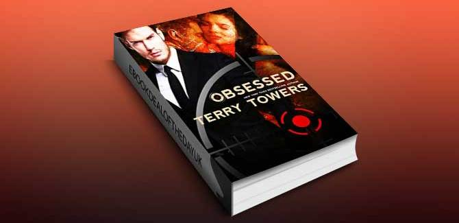 romantic suspense ebook Obsessed: A Dark Romance Novel by Terry Towers