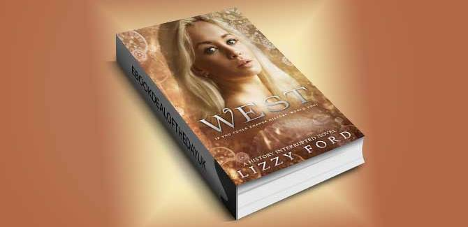 time travel romance ebook West: History Interrupted: Time Travel Romance by Lizzy Ford