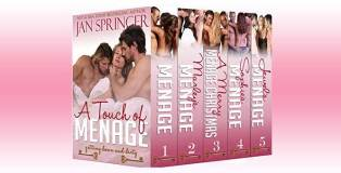 "erotic romance boxed set series ""A Touch of Menage: A Ménage Romance Box Set Series"" by Jan Springer"