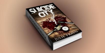 "edgy ya contemporary fiction ebook ""Suicide City, A Love Story"" by Julie Frayn"