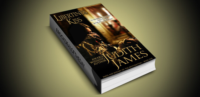 historical romance ebook Libertine's Kiss (Rakes and Rogues of the Restoration Book 1) by Judith James