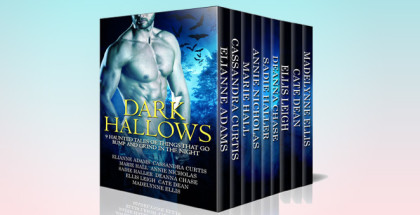 "paranormal romance boxed set ""Dark Hallows: 9 Haunted Tales Of Things That Go Bump And Grind In The Night"