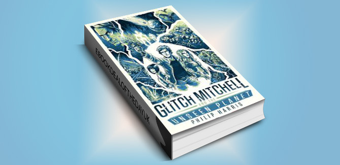 scifi young adult ebook Glitch Mitchell and the Unseen Planet by Philip Harris