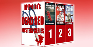 "womensleuths mystery boxed set ""The Dead Red Mystery Series (The Dead Red Mystery Series"" by RP Dahlke"