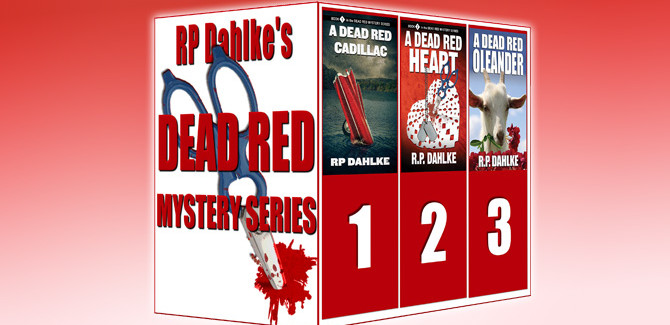womensleuths mystery boxed set The Dead Red Mystery Series (The Dead Red Mystery Series by RP Dahlke