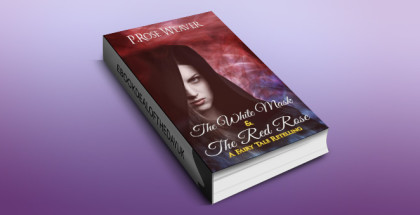 "fantasy romance ebook ""The White Mask & The Red Rose: A Fairy Tale Retelling"" by P.Rose Weaver"