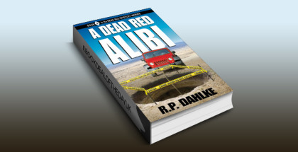 "mystery w/ humour ebook ""A Dead Red Alibi (The Dead Red Mystery Series, Book 4)"" by RP Dahlke"