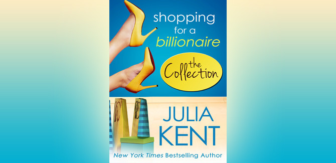 contemporary romance Shopping for a Billionaire Boxed Set (Parts 1-5) by Julia Kent