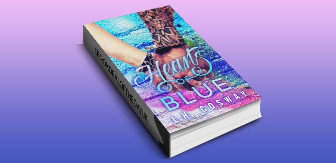 contemporary romance ebook Hearts of Blue by L.H. Cosway