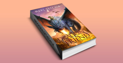 "epic dragon fantasy ebook ""Dragonfriend"" by Marc Secchia"