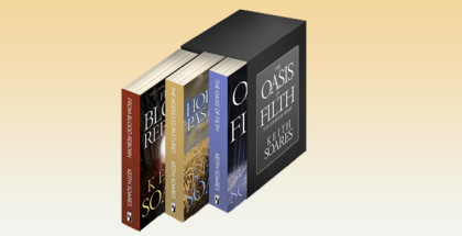 "postapocalyptic scifi box set""The Oasis of Filth - The Complete Series"" by Keith Soares"
