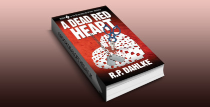 "cozy mystery ebook ""A Dead Red Heart (The Dead Red Mystery Series, Book 2)"" by RP Dahlke"