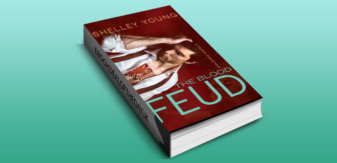 thriller romantic suspense ebook  The Blood Feud by Shelley Young