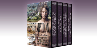 "medieval historical romance boxed set "" Medieval Redemption"" by Aurrora St. James, April Holthaus, Ria Cantrell, Nancy Lee Badger"