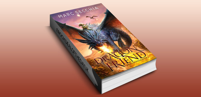 an epic fantasy ebook  Dragonfriend by Marc Secchia