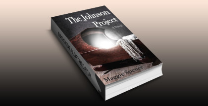 "scifi psychological thriller ebook ""The Johnson Project"" by Maggie Spence"