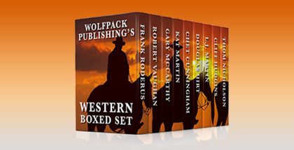 "historical western ebooks ""Wolfpack Publishing's Western Boxed Set"" by Frank Roderus, Multiple Authors,"