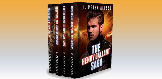 scifi space opera ebook The Henry Gallant Saga - Books 1-4 by H. Peter Alesso