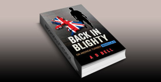 """crime fiction ebook """"Back in Blighty: On Andrew Turner, Novella 6"""" by A D Bell"""