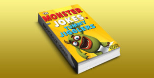 "a ""Kids Books : The MONSTER book of > FUNNY JOKES & Kids BRAIN Games - by Hudson Moore"