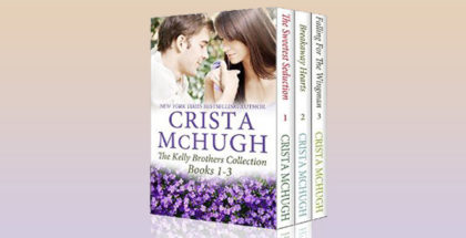 "contemporary romance boxed set ""The Kelly Brothers, Books 1-3"" by Crista McHug"