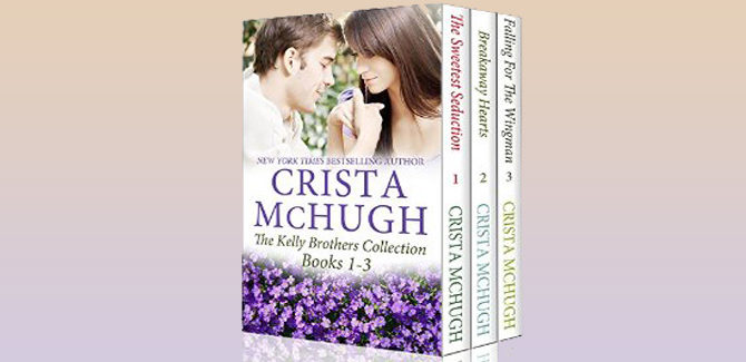 contemporary romance boxed set The Kelly Brothers, Books 1-3 by Crista McHug