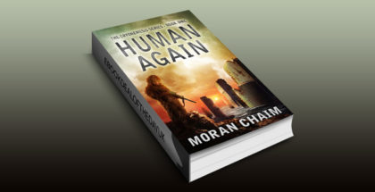 "scifi dystopian ebook ""Human Again: A Dystopian Sci-Fi Novel (Cryonemesis Book 1)"" by Moran Chaim"