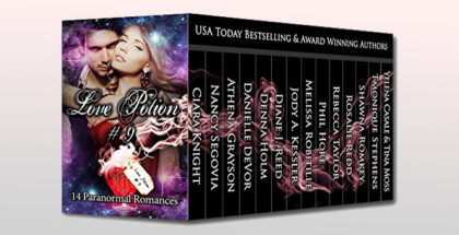 "paranormal fantasy boxed set ""Love Potion #9: 14 Paranormal Romances"" by Nancy Segovia + 14 more"