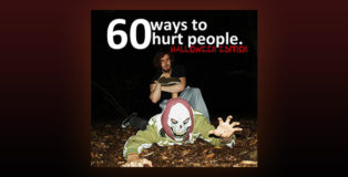"martial arts tips ebook ""60 Ways To Hurt Someone: Halloween Edition"" by Luke Robinson"
