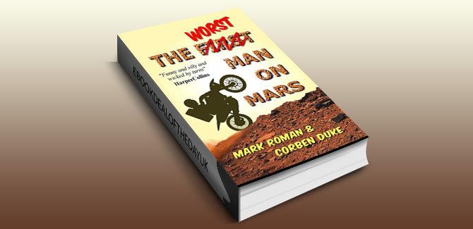 humour science fiction ebook The Worst Man on Mars by Mark Roman