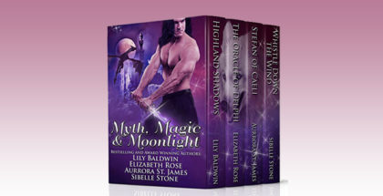"fantasy medieval paranormal romance boxed set ""Myth, Magic, and Moonlight"" by Lily Baldwin, Elizabeth Rose, Aurrora St. James & Sibelle Stone"