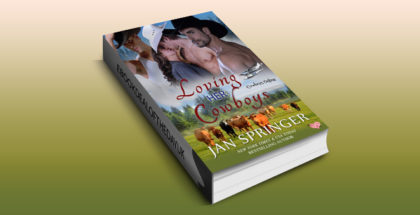 "western erotic menage romance ebook ""Loving Her Cowboys: Cowboys Online 3"" by Jan Springer"