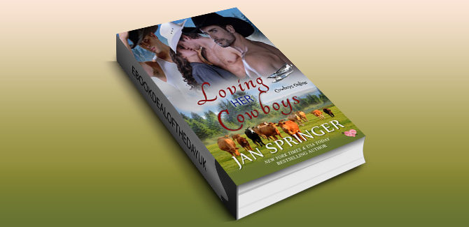western erotic menage romance ebook Loving Her Cowboys: Cowboys Online 3 by Jan Springer